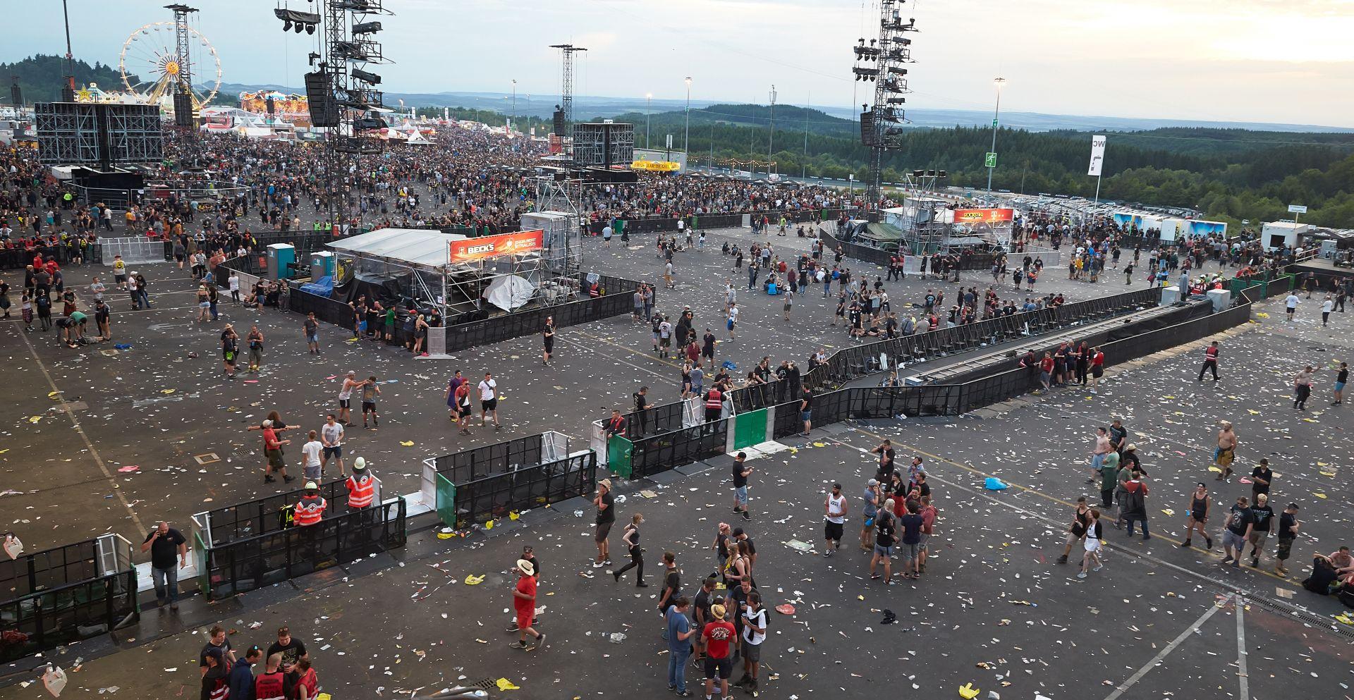 ROCK AM RING Policija evakuirala posjetitelje najvećeg njemačkoh rock festivala zbog 'terorističke prijetnje'
