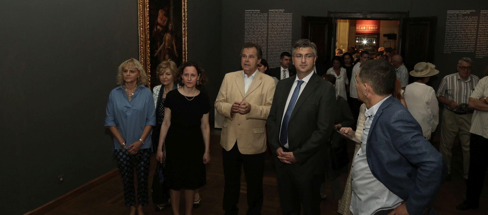 """Otvorena izložba """"Barokni sjaj Venecije – Tiepolo i suvremenici"""""""