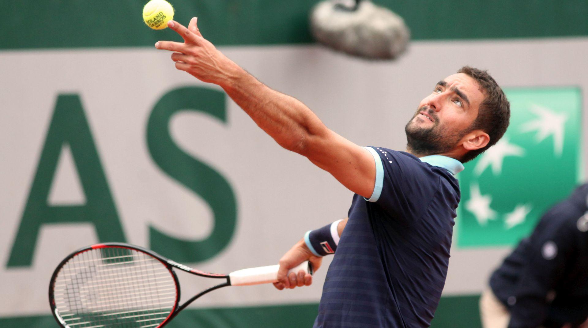 Anderson predao, Čilić u prvom četvrtfinalu Roland Garrosa u karijeri