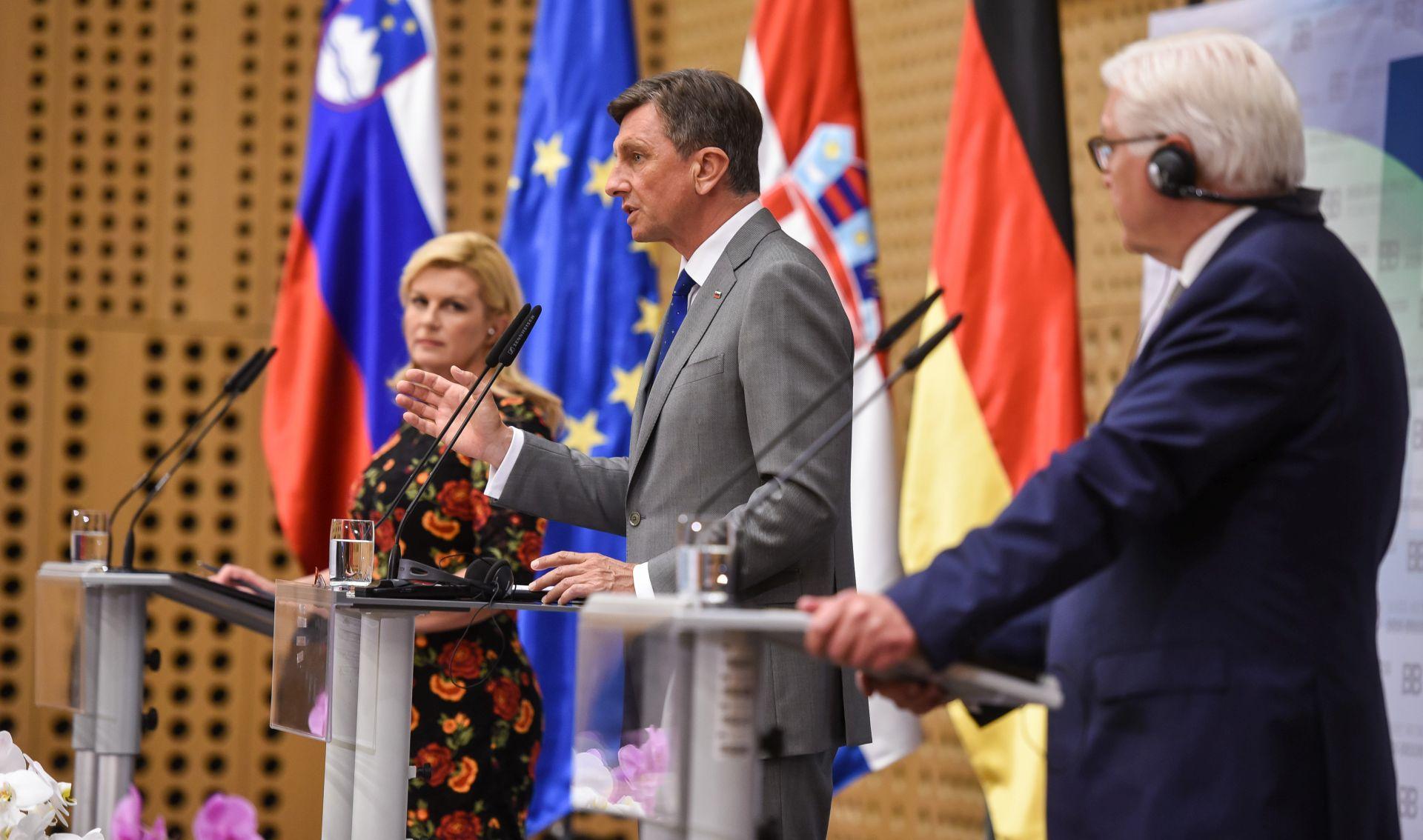 Pahor strahuje da bi neprovođenje odluke o arbitraži moglo izazvati sukobe