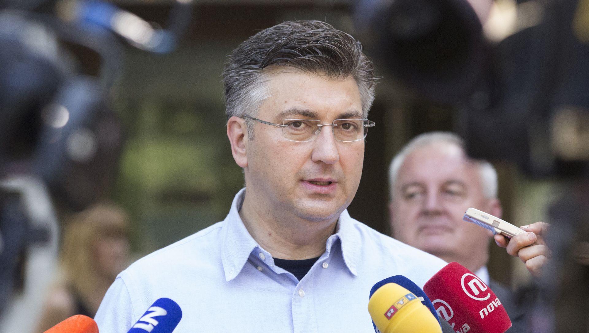 PLENKOVIĆ NA SJEDNICI PREDSJEDNIŠTVA 'Na dnevnom redu i moguća suradnja s HNS-om'