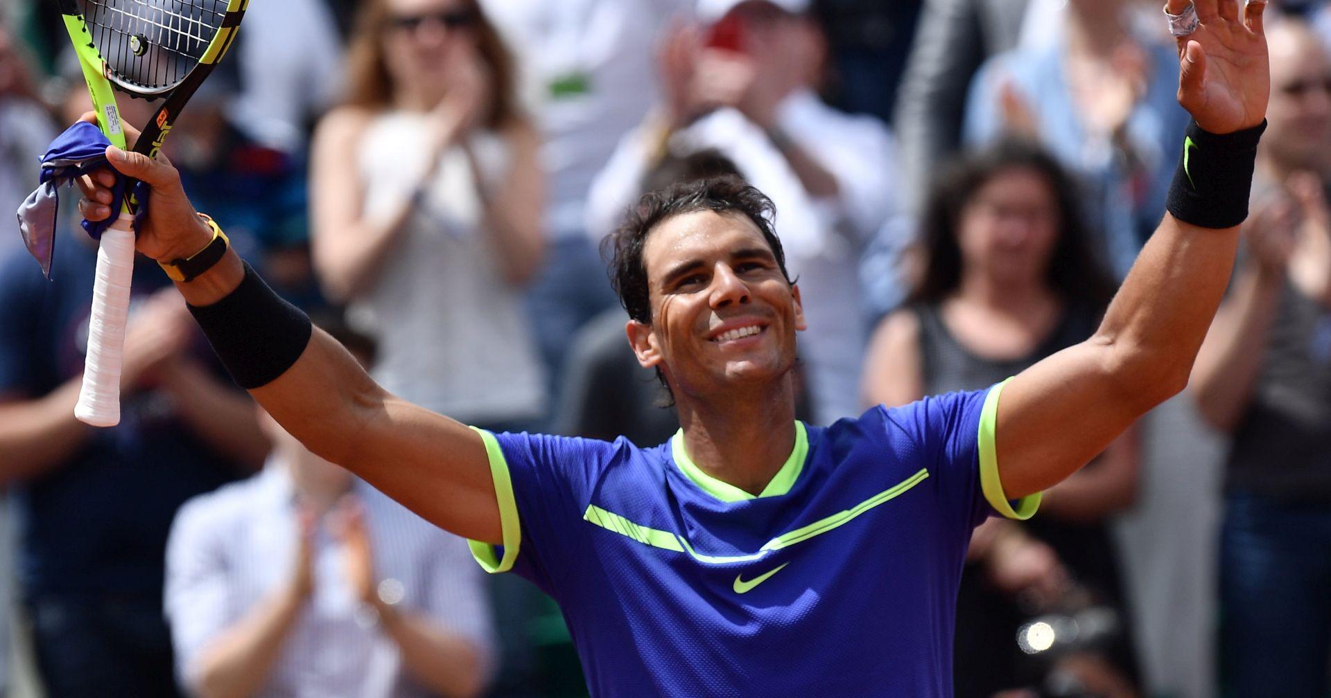 ROLAND GARROS Nadal ekspresno u polufinale