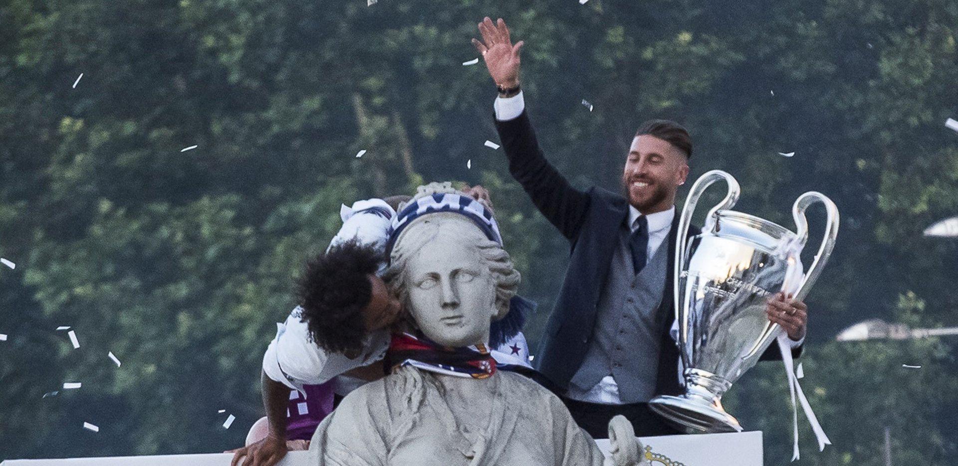 DOČEK U MADRIDU Europski prvaci vratili se kući