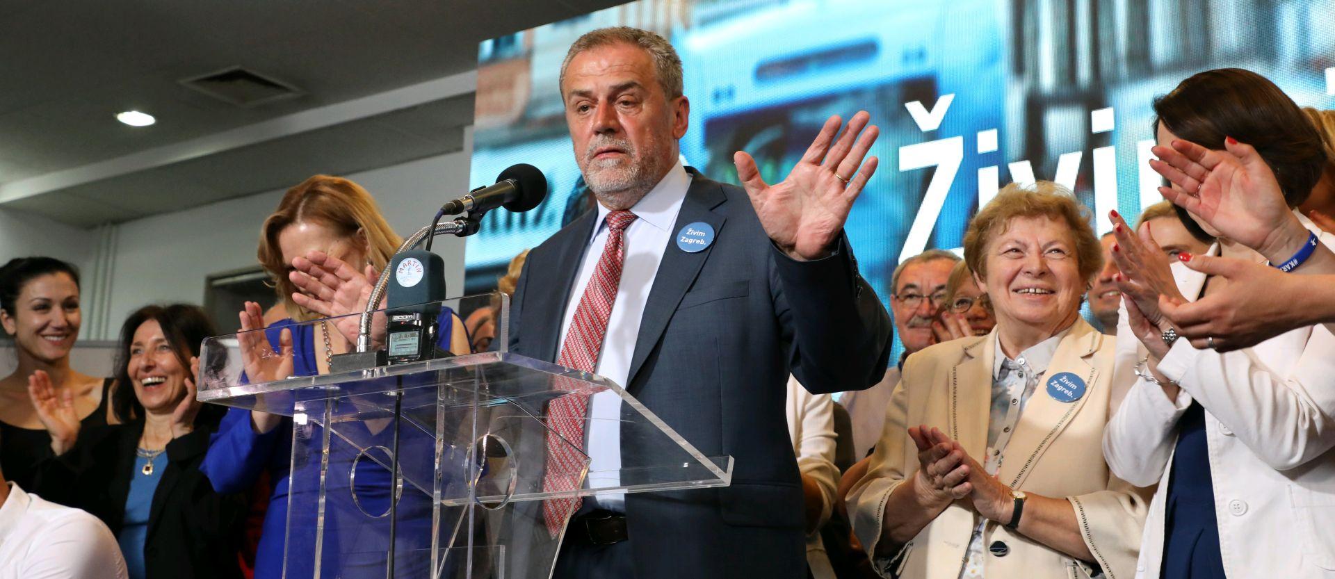 """PAVLE KALINIĆ """"Nije Bandić dobio izbore jer je najljepši, nego zbog toga što je napravio"""""""