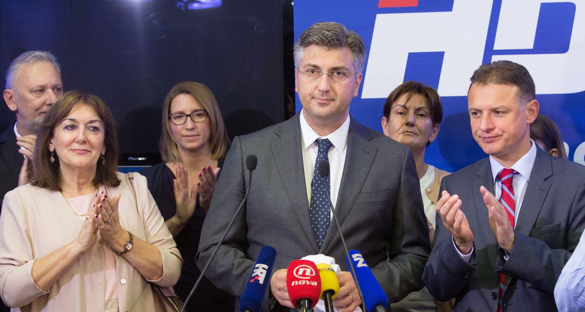 I manjine podržavaju Vladu premijera Plenkovića