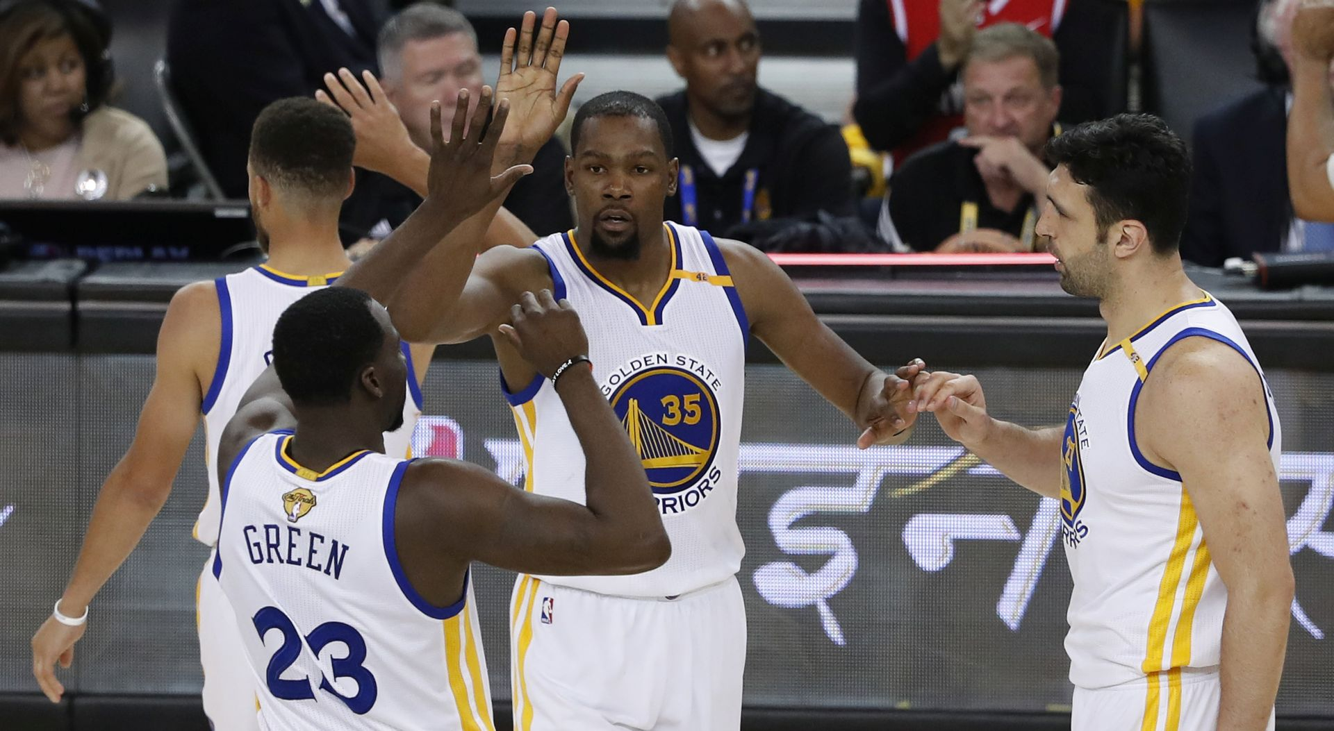 NBA Golden State Warriorsi prvaci, Kevin Durant MVP