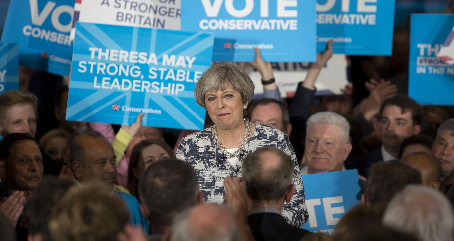 IZBORI U VELIKOJ BRITANIJI Ankete predviđaju uvjerljivu pobjedu Konzervativaca premijerke May