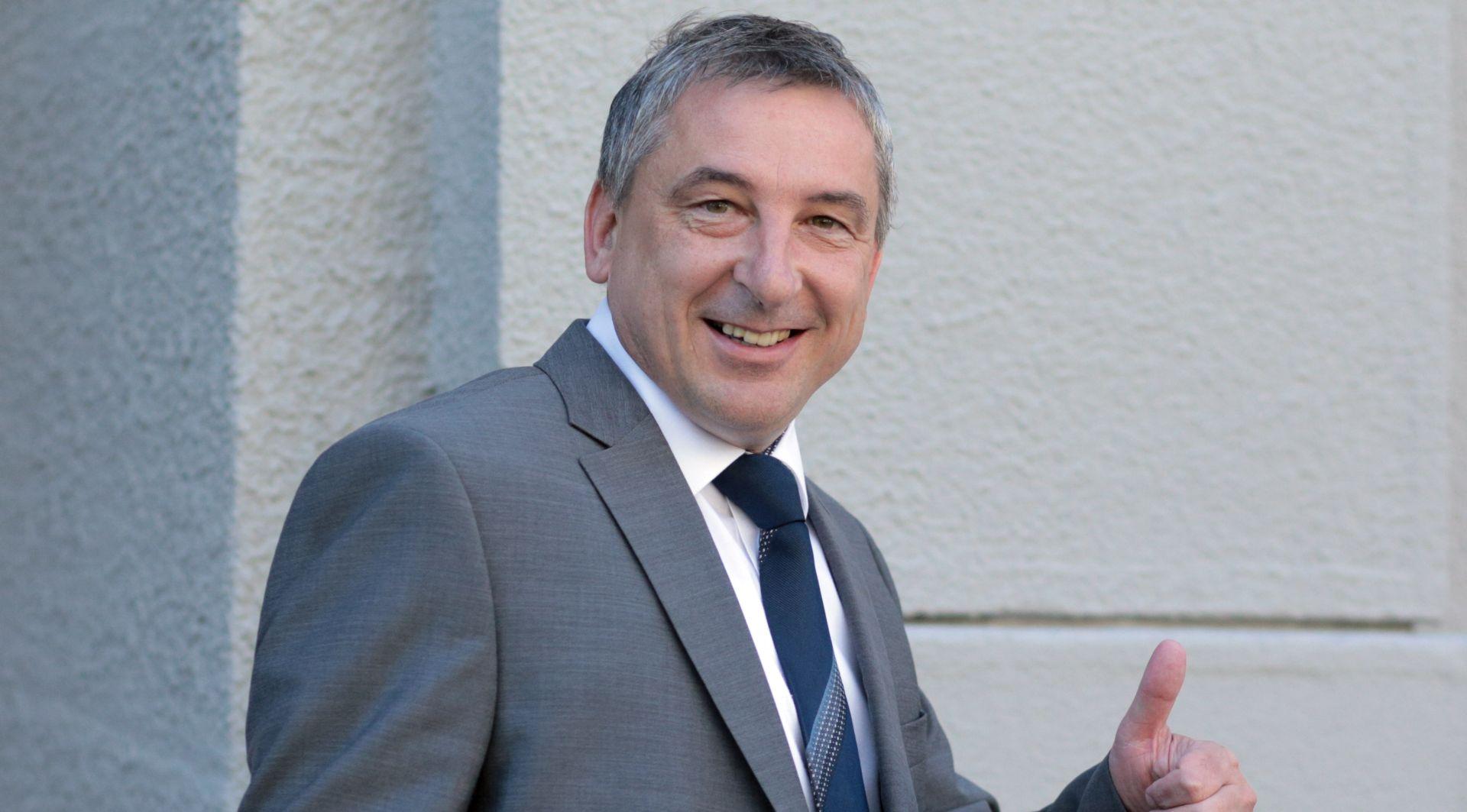 Predrag Štromar na vlastiti je zahtjev razriješen dužnosti predsjednika županijskog HNS-a