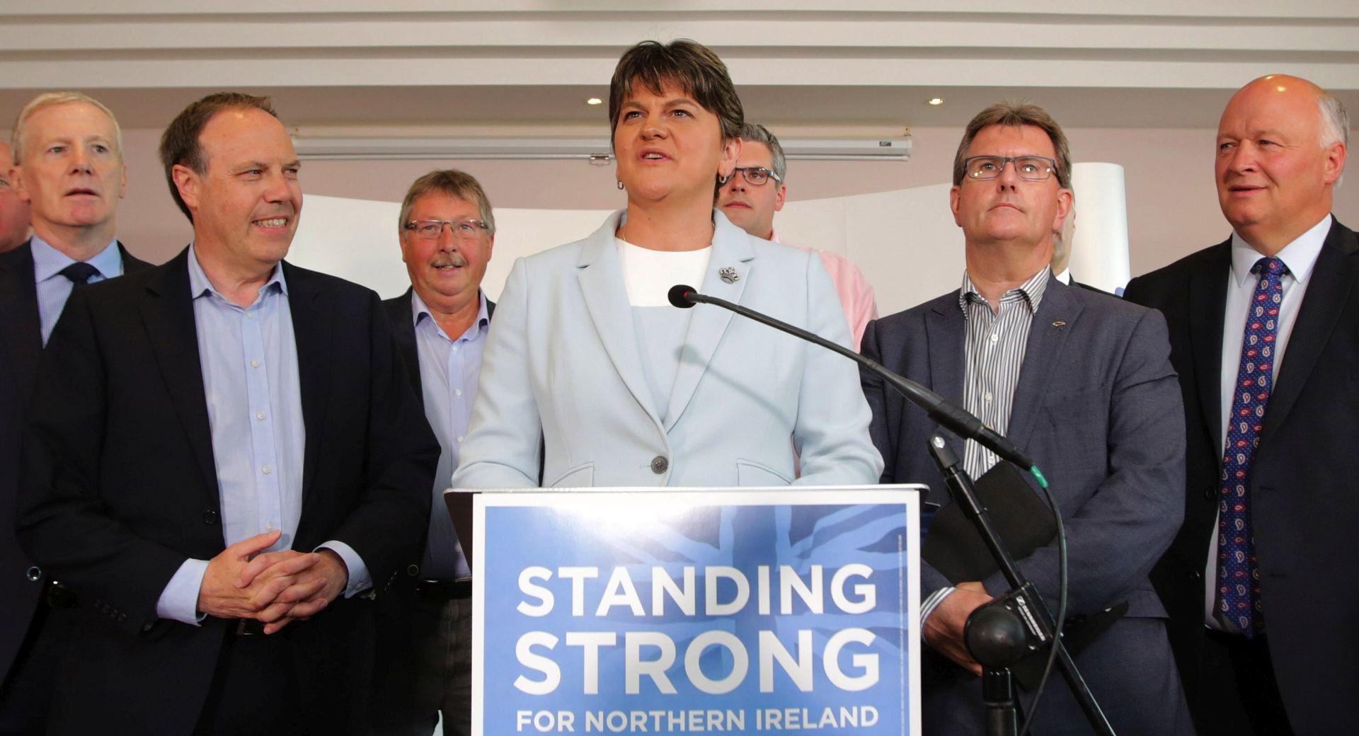 Konzervativci i DUP dogovorili suradnju ali ne i koaliciju