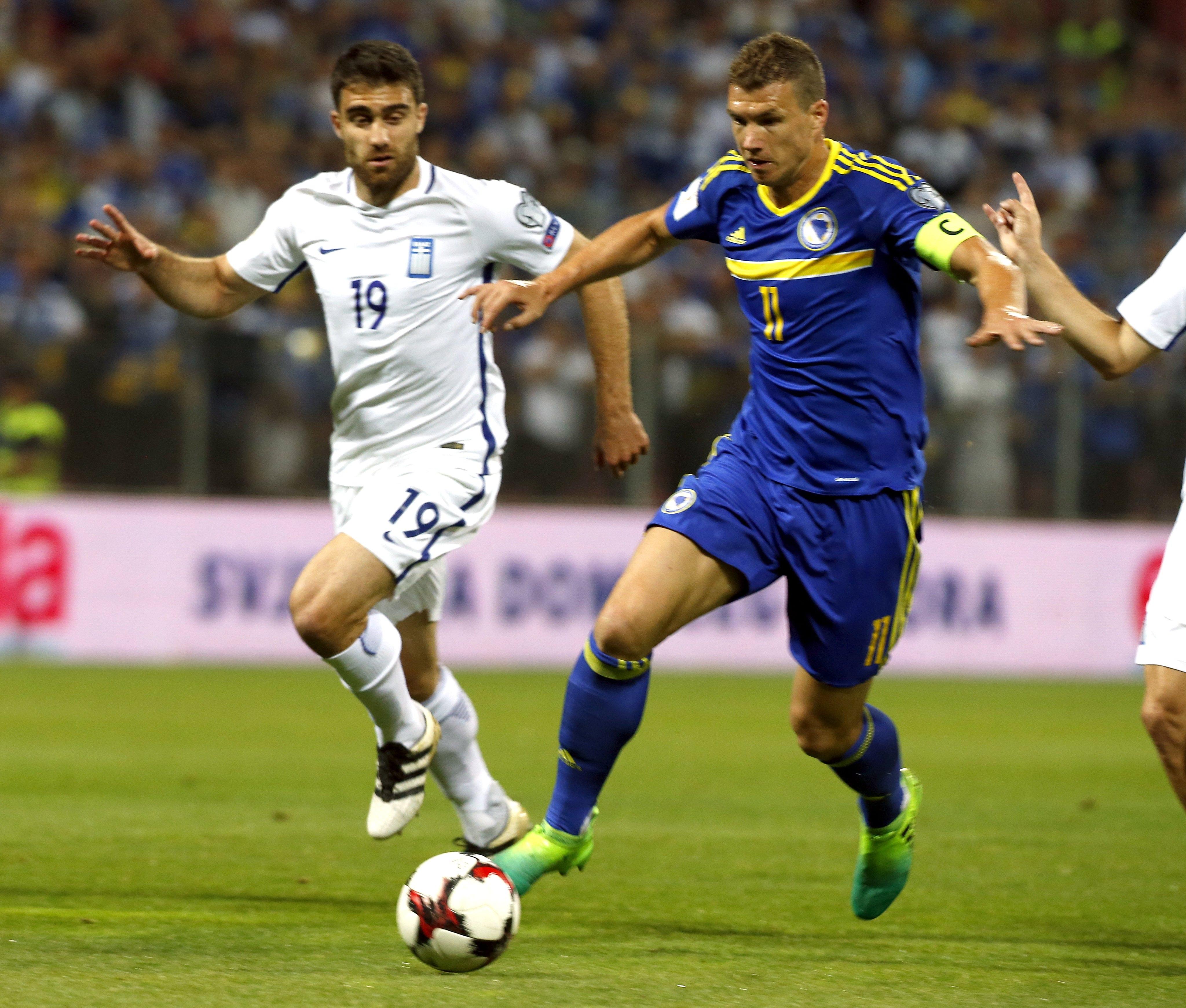 ZENICA Tučnjava nakon utakmice BiH i Grčke