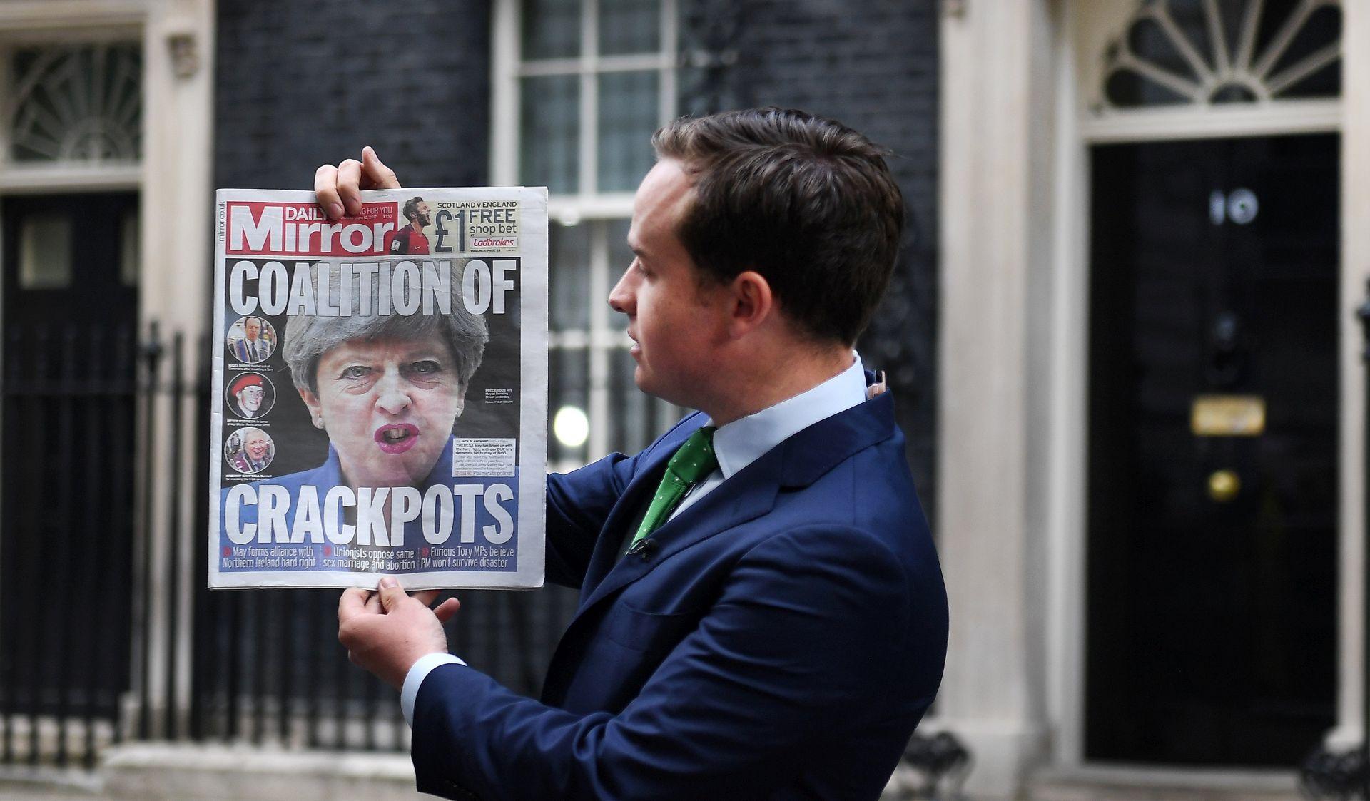 Britanski konzervativci i DUP još nisu postigli dogovor o potpori novoj vladi