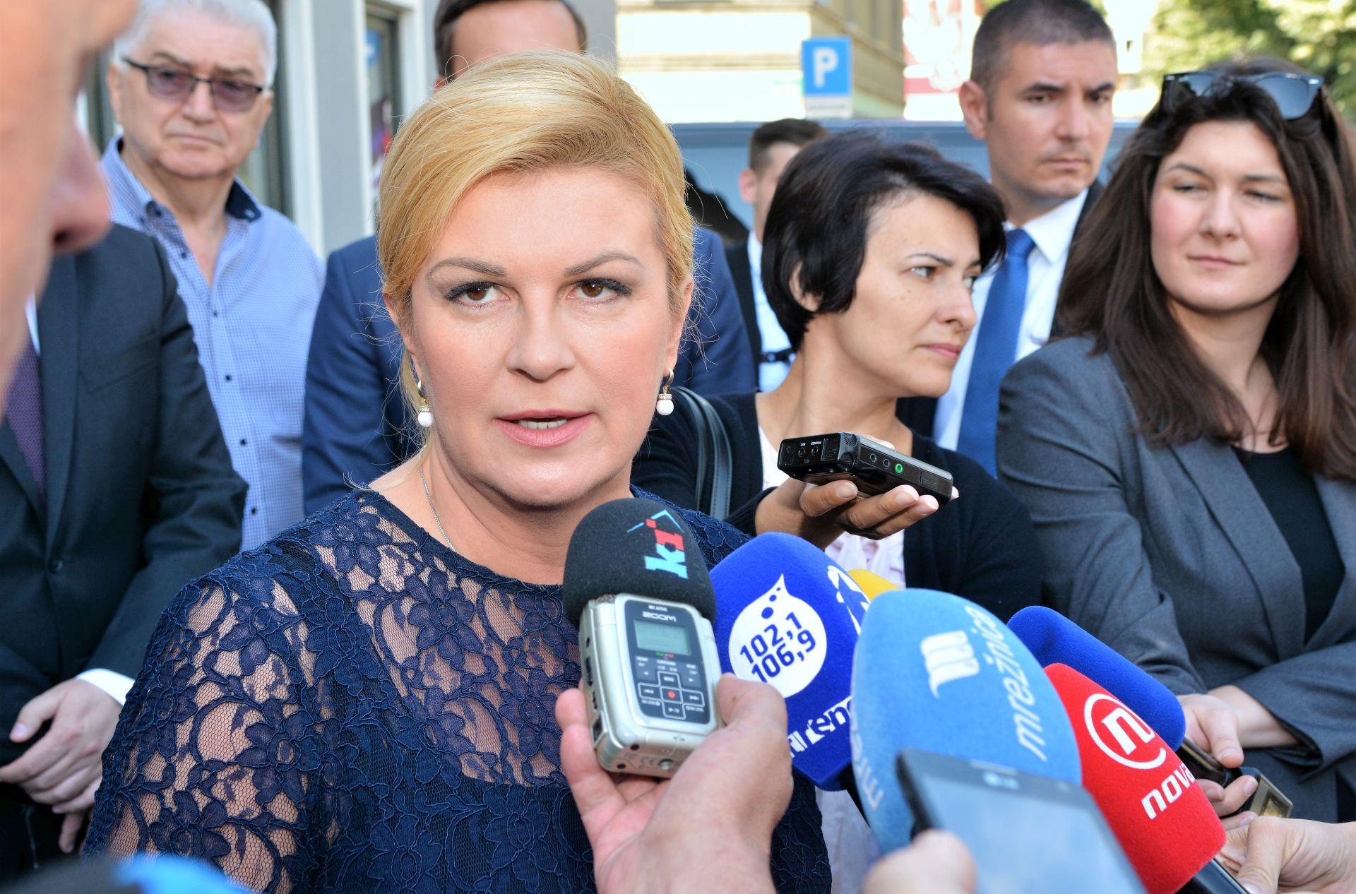 Predsjednica Grabar Kitarović pozdravila formiranje nove parlamentarne većine