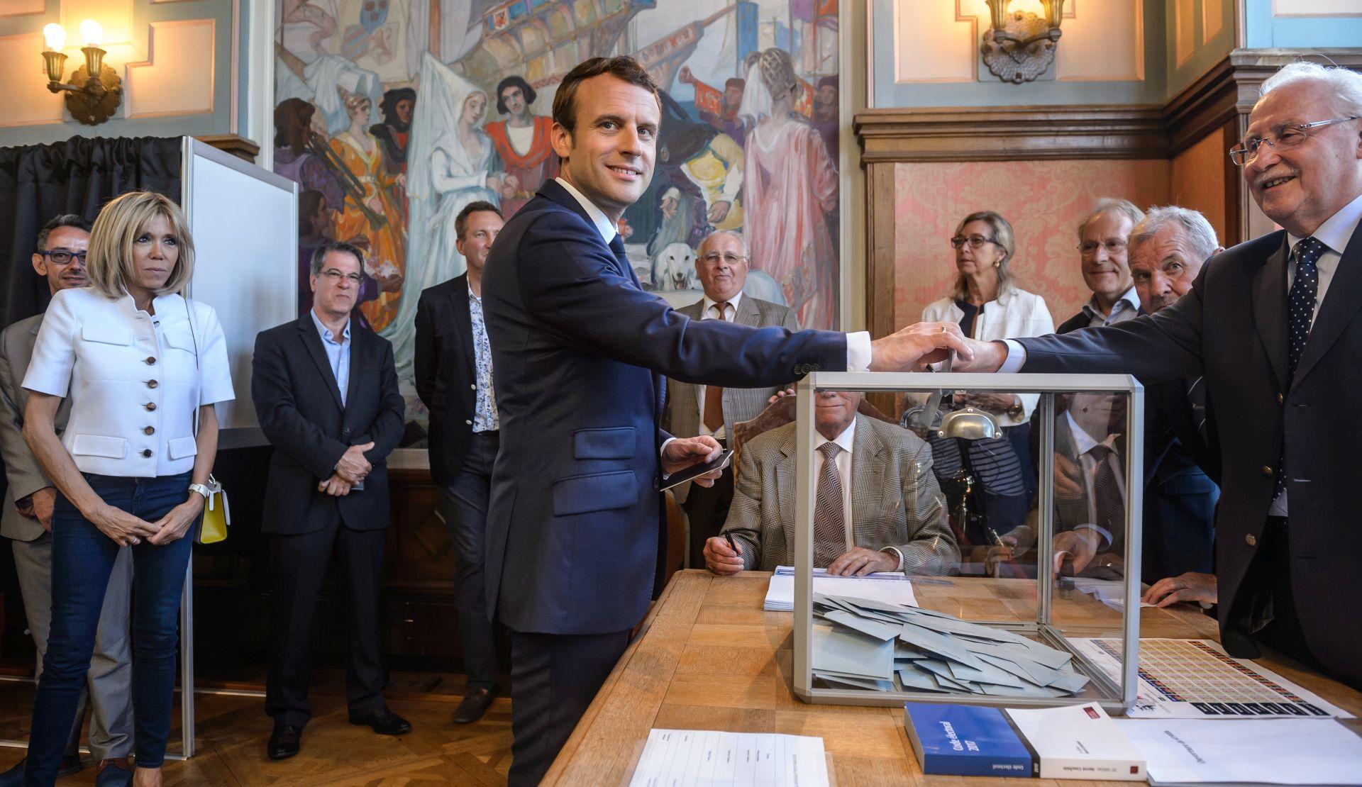 FRANCUSKI PARLAMENTARNI IZBORI Macronu se smiješi velika pobjeda