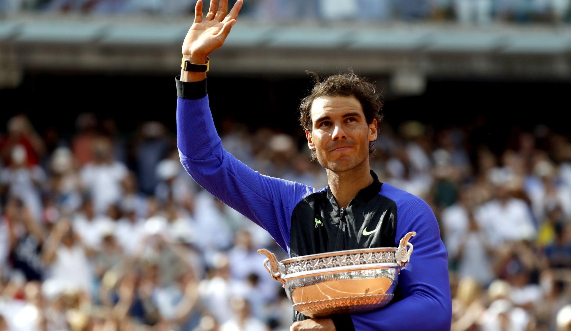 ROLAND GARROS Nadal uvjerljivo do desetog naslova u Parizu