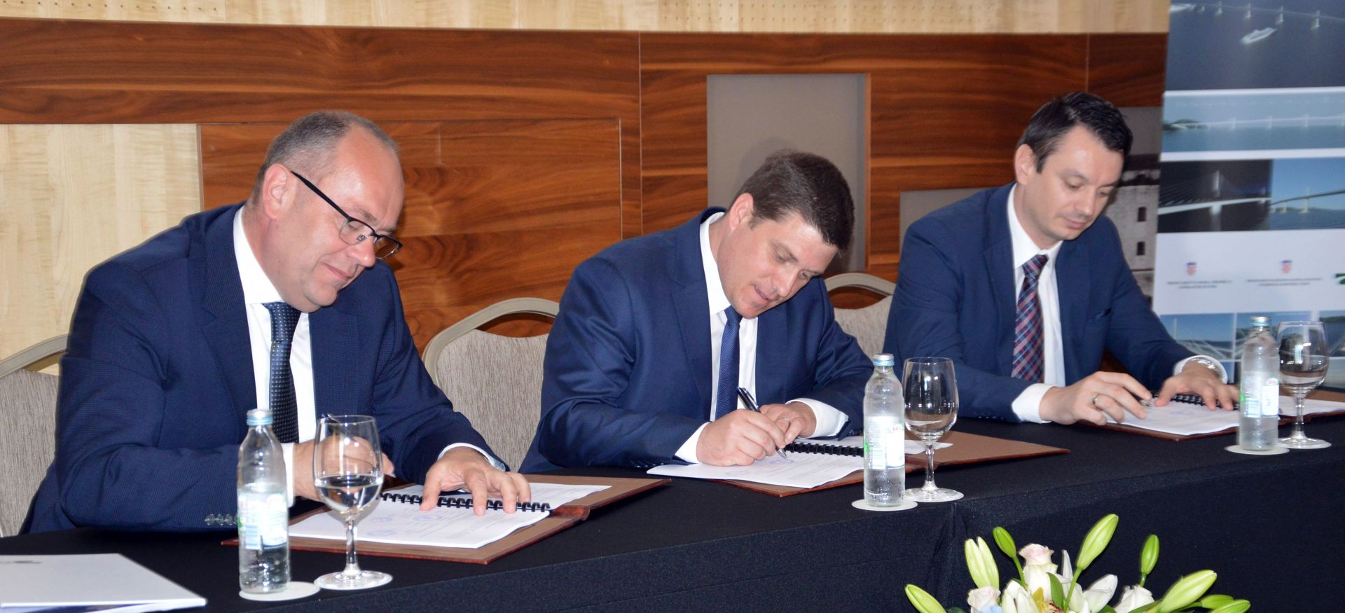 Ugovor o dodjeli bespovratnih sredstava za Pelješki most