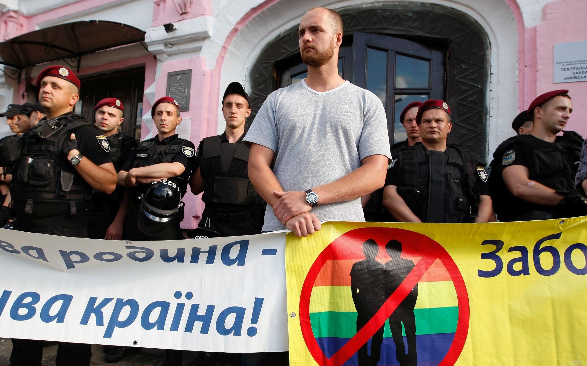Gay pride parada u Kijevu protekla mirno