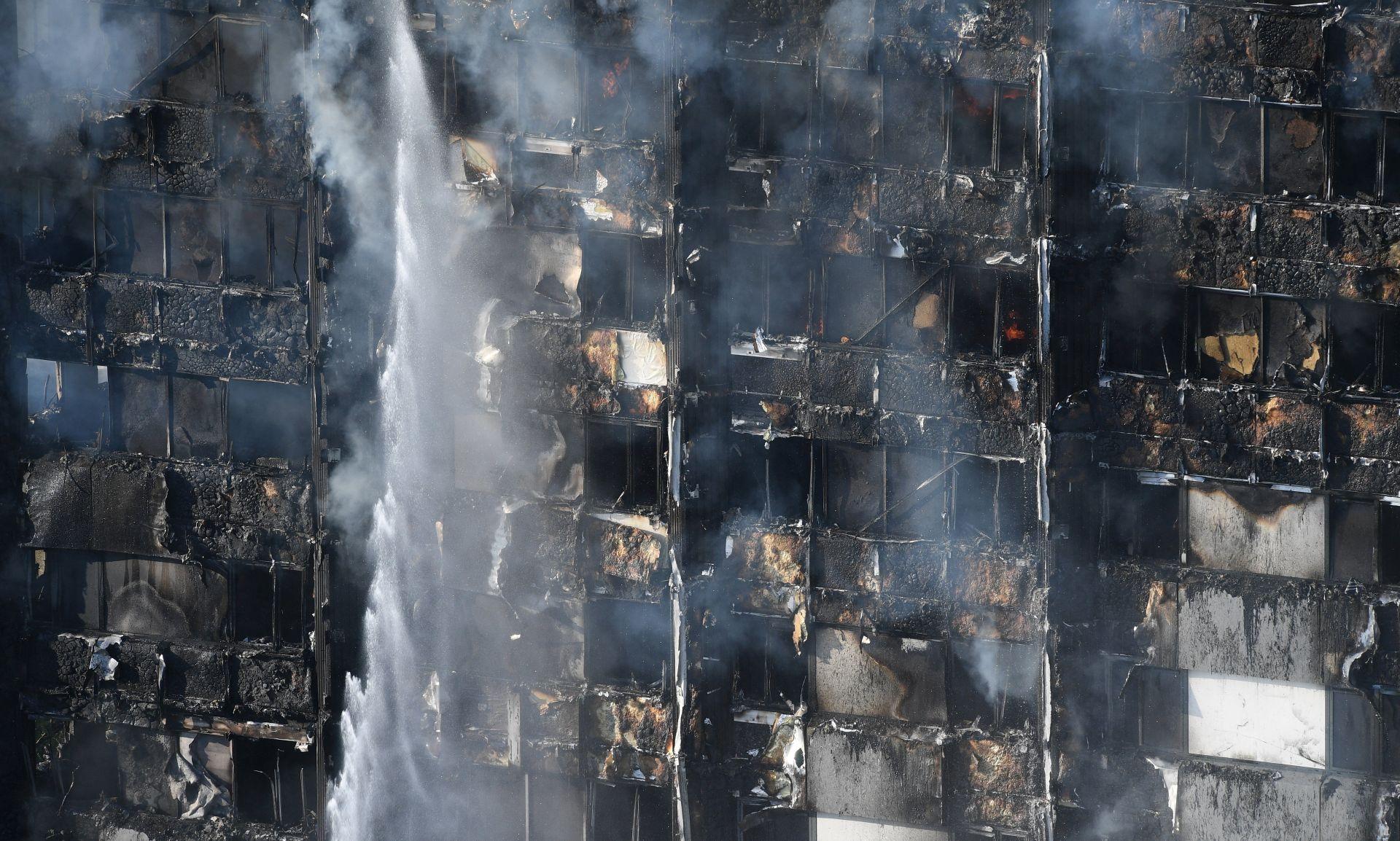 POŽAR U LONDONU Vatrogasci još uvijek ne mogu u potpunosti pretražiti zgradu