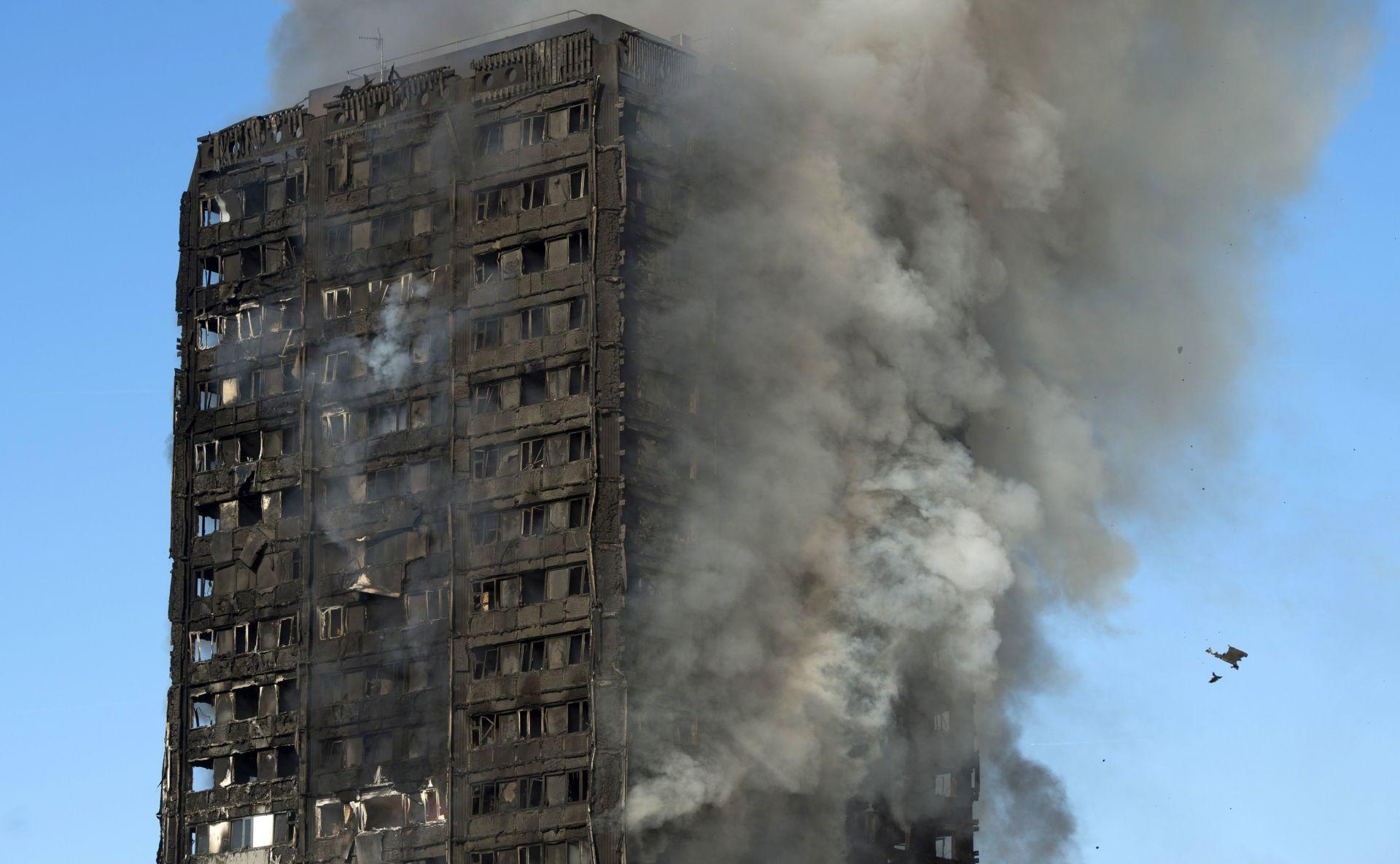 LONDON Stanar spasio djevojčicu iz gorućeg nebodera