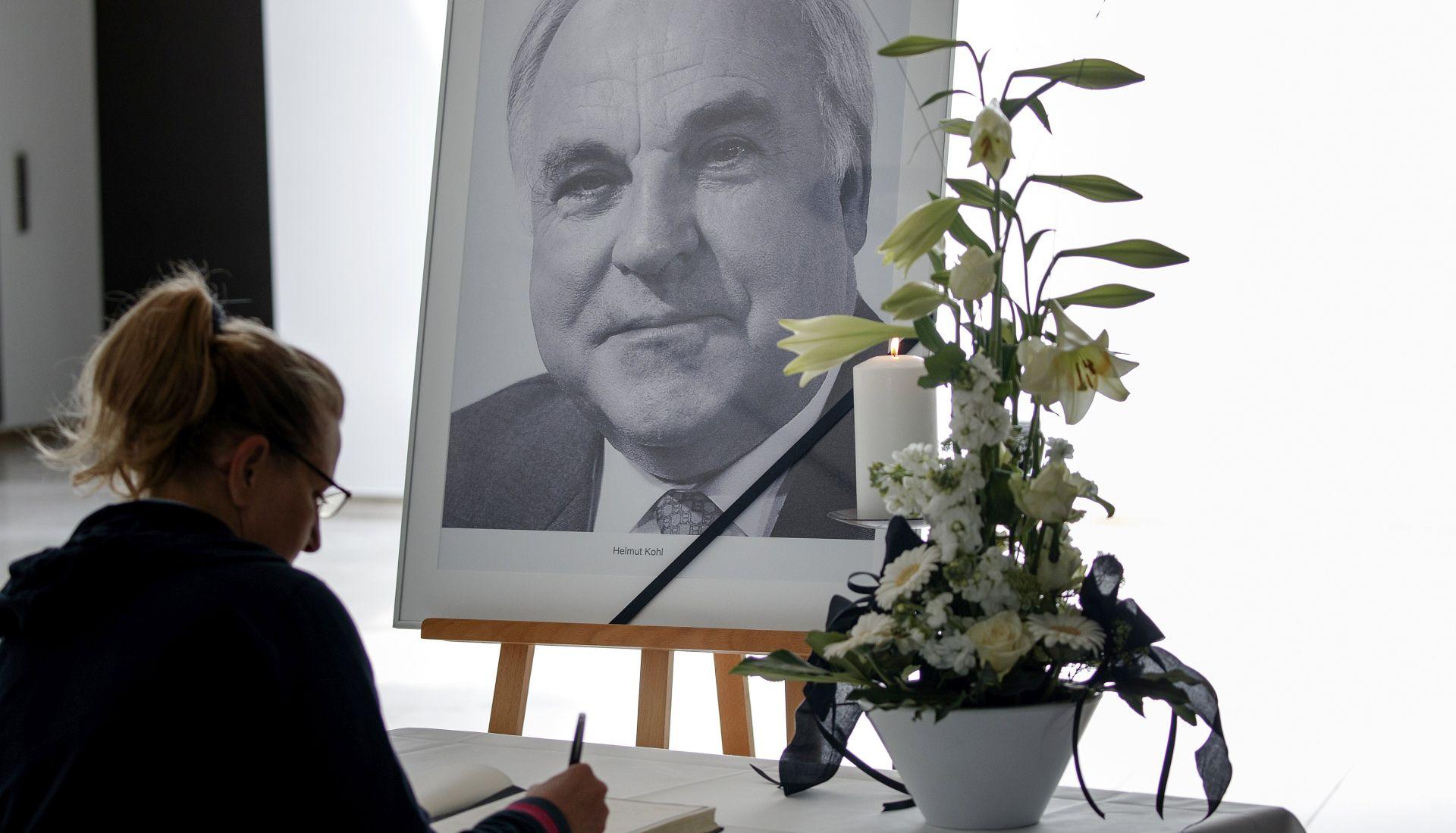 Europska komemoracija u Strasbourgu u povodu smrti Helmuta Kohla