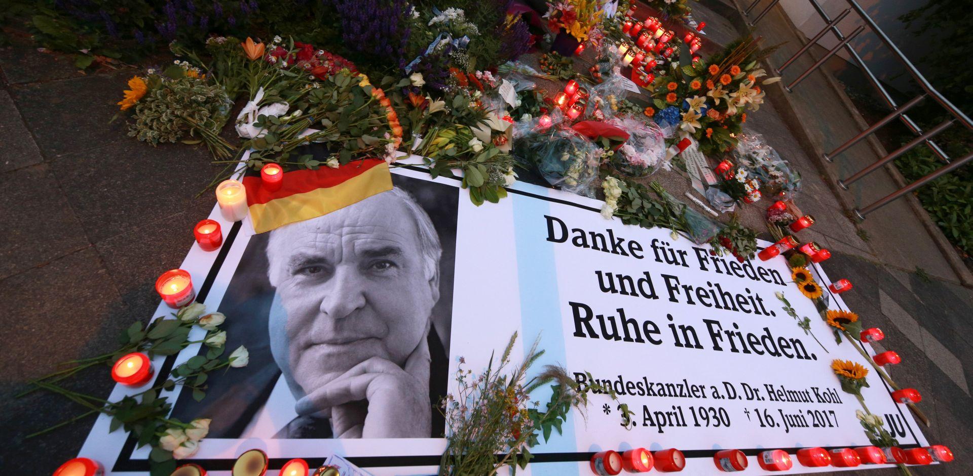 Komemoracija u Bundestagu u počast Helmutu Kohlu