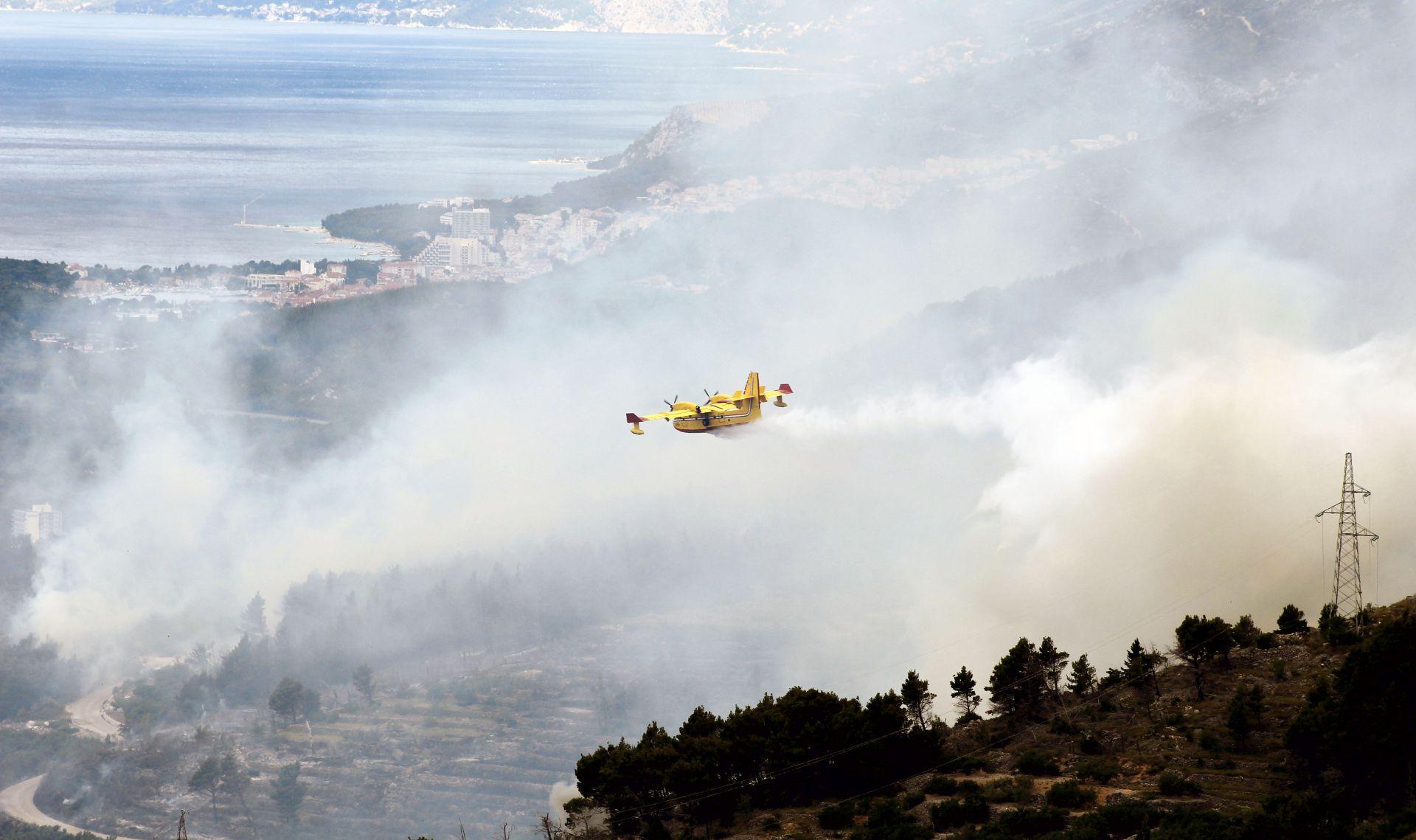 Lokaliziran požar na Korčuli, izgorjelo 10 hektara borove šume