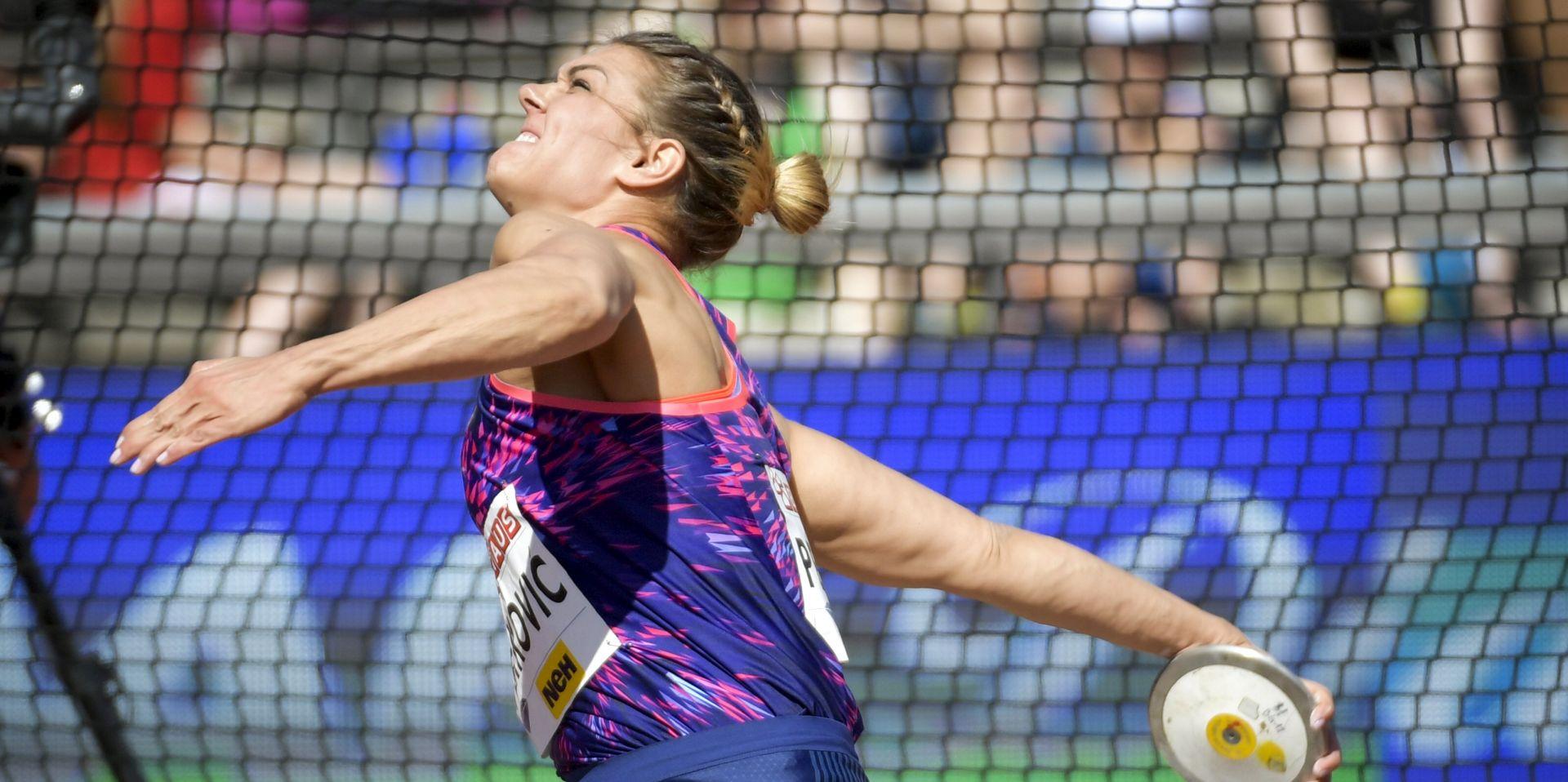 DIJAMANTNA LIGA Sandra Perković osvojila drugo mjesto u Stockholmu