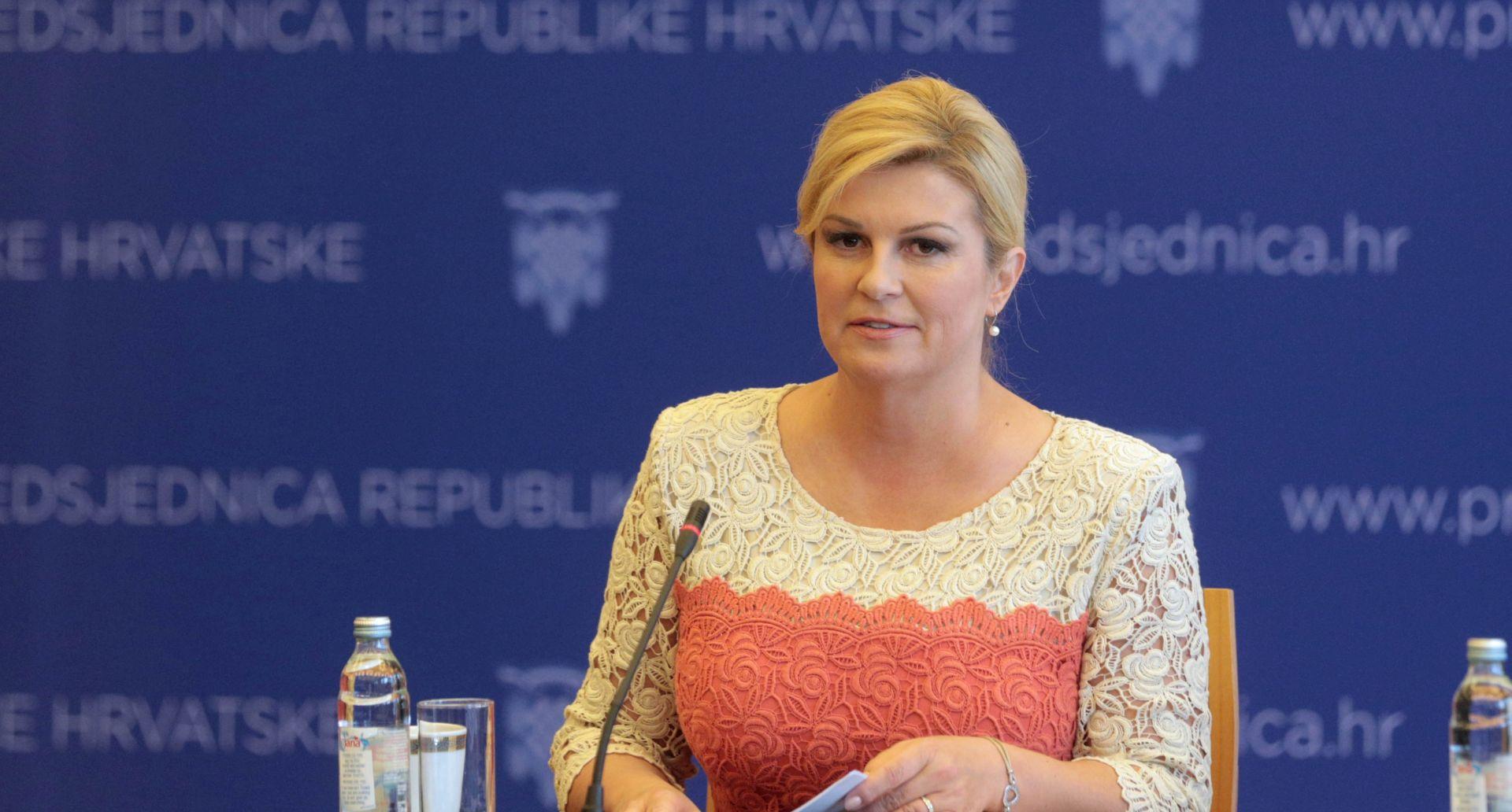 Predsjednica Republike čestitala Dana državnosti