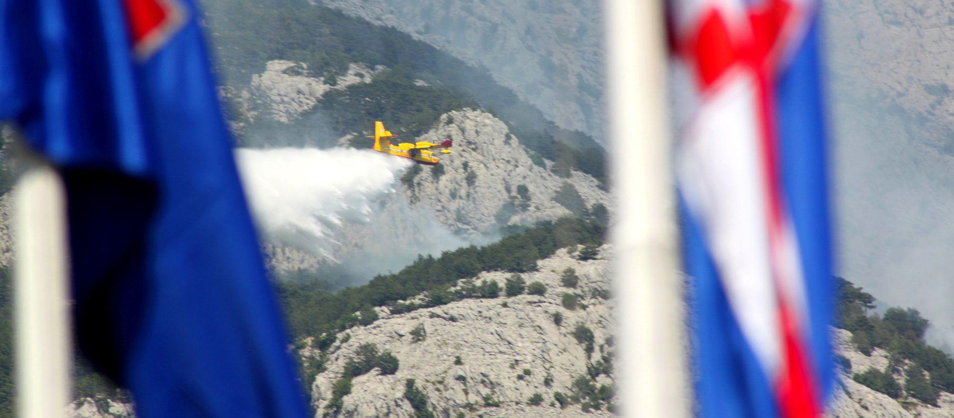 KRSTIČEVIĆ 'Situacija na požarištima je stabilna, sustav je spreman reagirati'