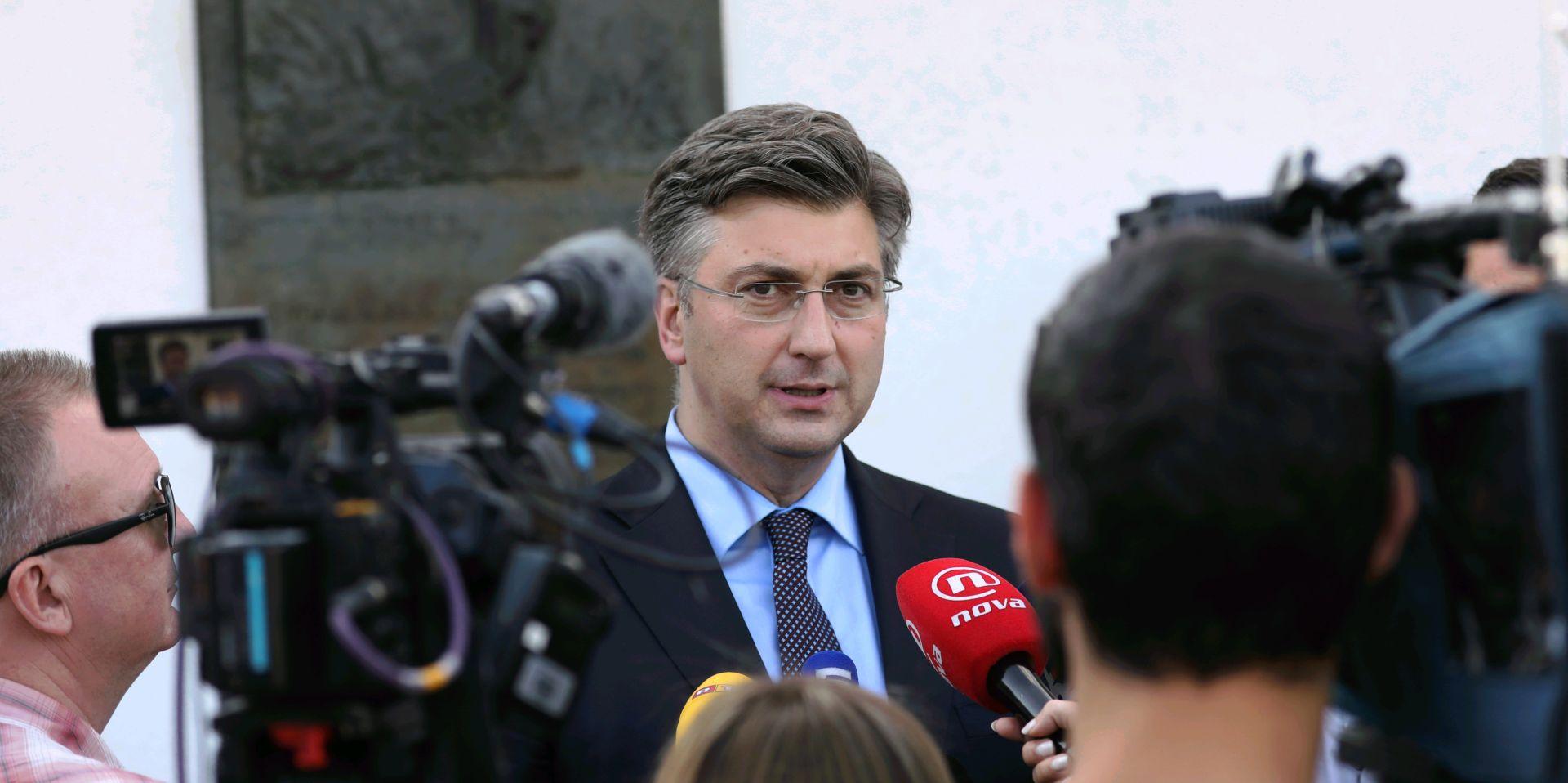 """OBLJETNICA OSNUTKA HDZ-A Plenković o arbitraži: """"Hrvatska ni na koji način neće biti vezana presudom Arbitražnog suda"""""""