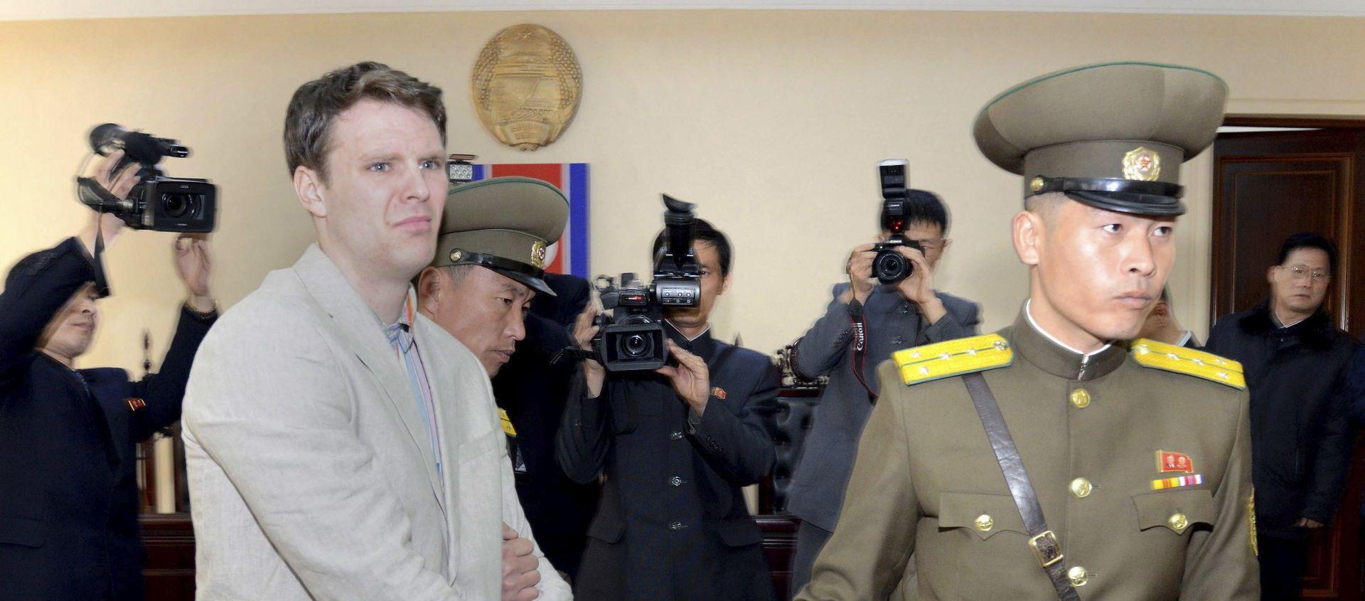 TRUMP OSUDIO BRUTALNOST REŽIMA Preminuo student pušten iz Sjeverne Koreje