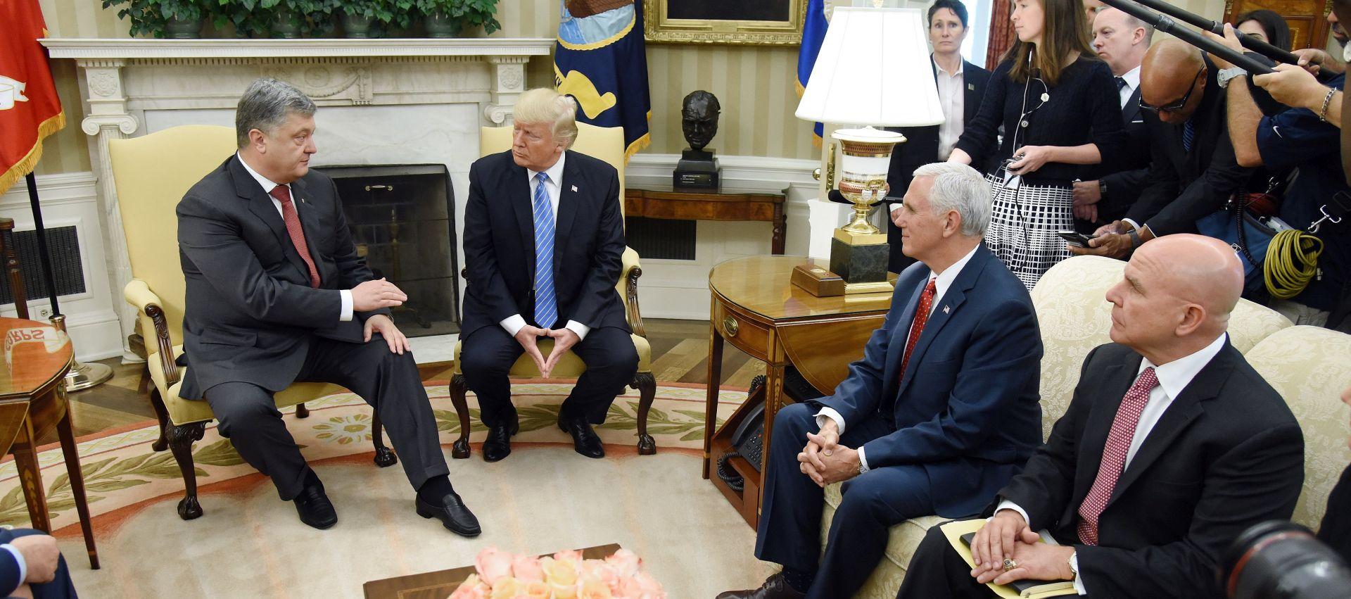 Trump primio Porošenka, ojačao sankcije Moskvi
