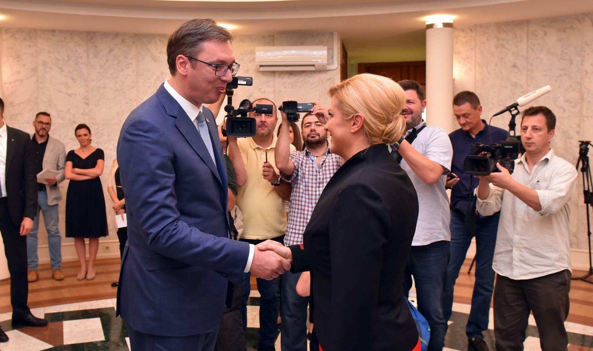 Vučić poželio Hrvatskoj puno uspjeha u nabavi borbenih zrakoplova