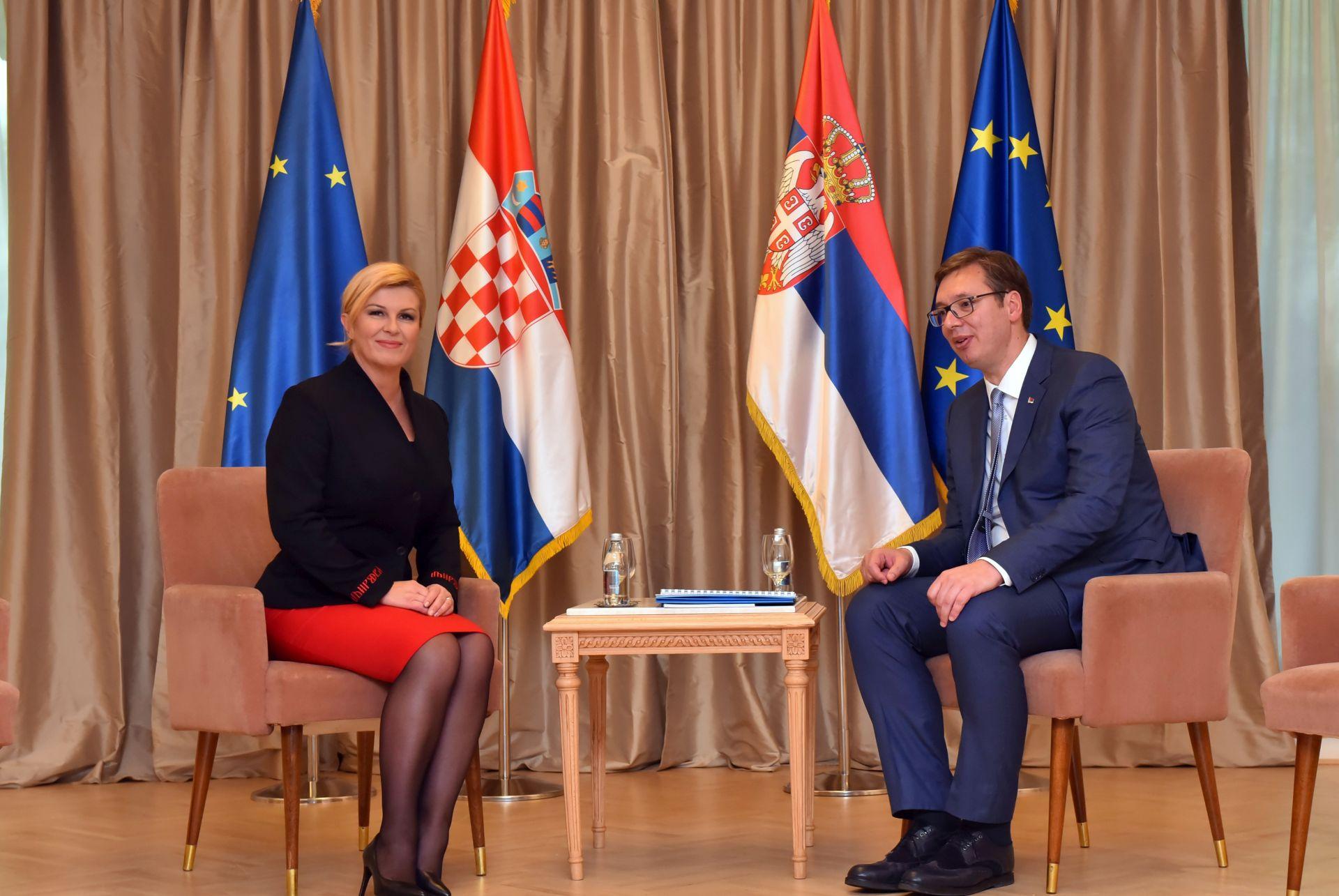 URED PREDSJEDNICE: Vučićeva isprika i ratna šteta nisu na dnevnom redu