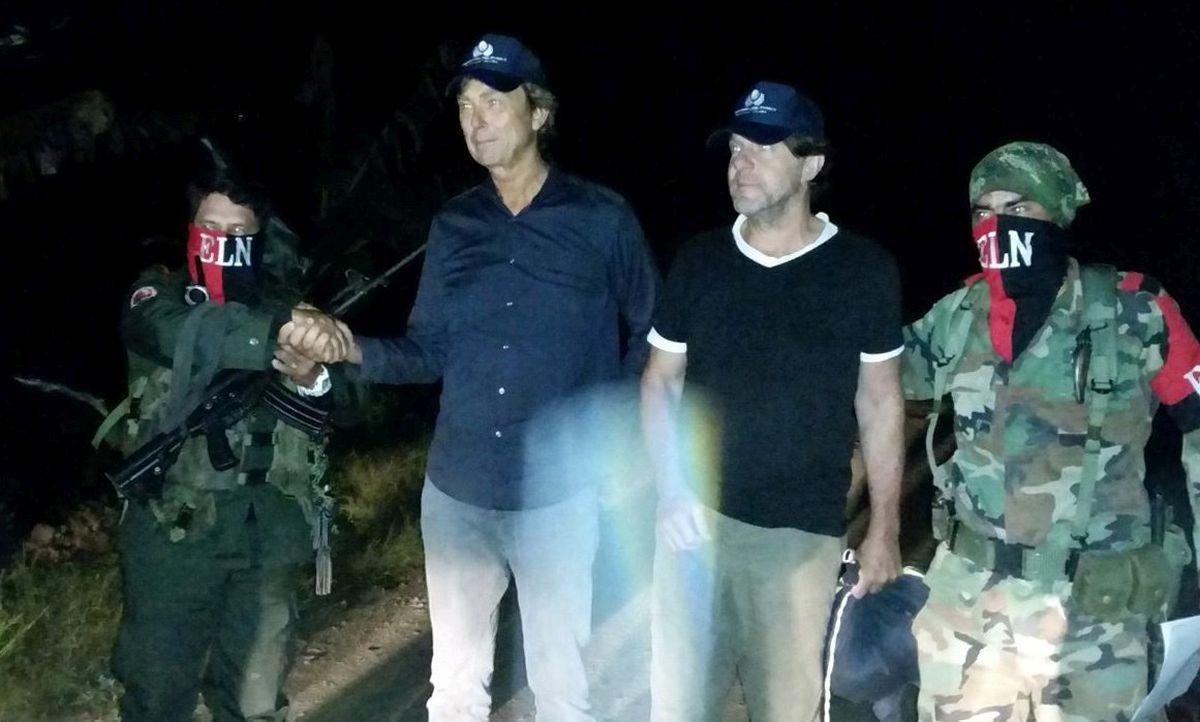 Oslobođena dva nizozemska novinara, oteta u ponedjeljak u Kolumbiji