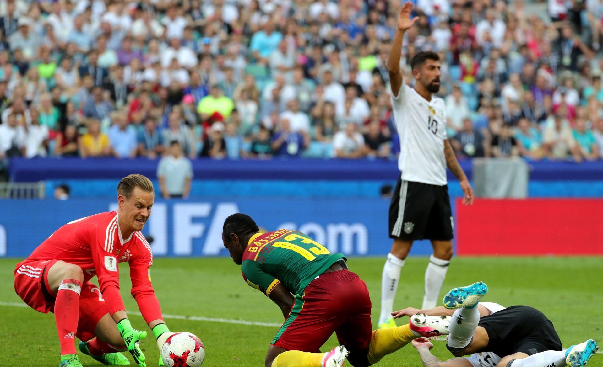 KUP KONFEDERACIJA Njemačka i Čile u polufinalu