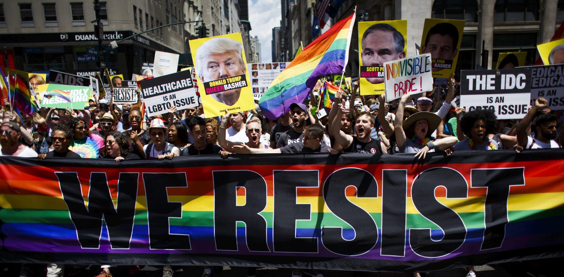 Gay Pride u New Yorku u znaku protivljenja Trumpu