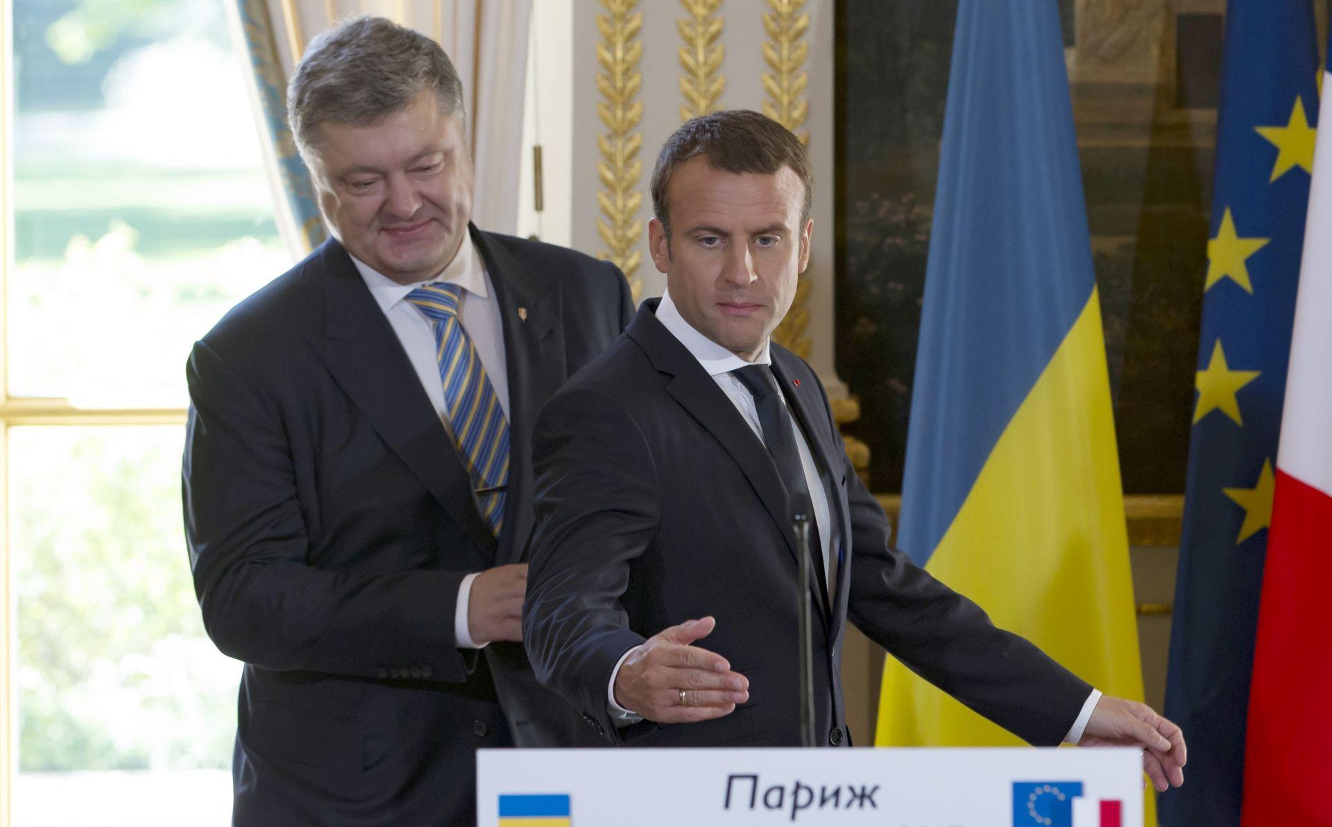 MACRON Francuska neće priznati pripojenje Krima