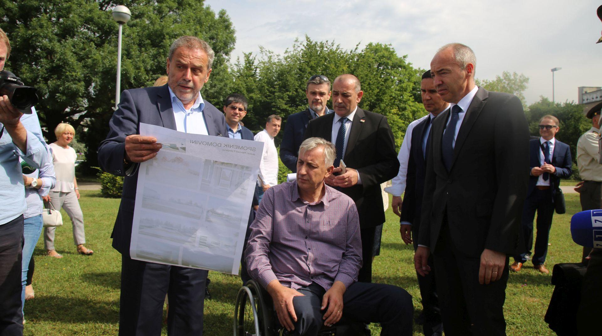 Bandić, Krstičević i Medved najavili izgradnju Spomenika domovini, Vojnog muzeja i vojnog groblja