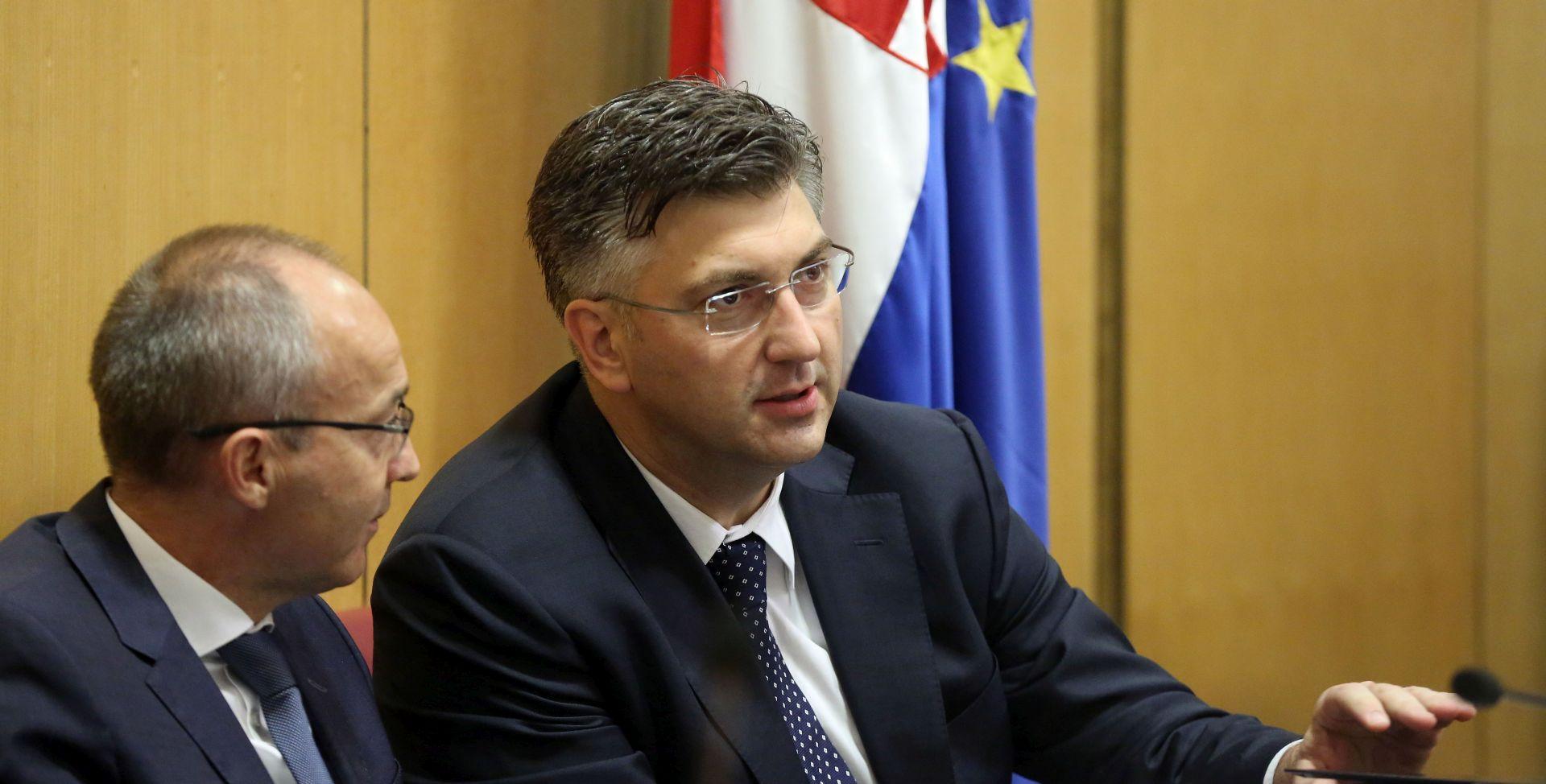 PLENKOVIĆ U SABORU 'Sigurnost hrvatskih građana i državnog teritorija temeljna zadaća države'