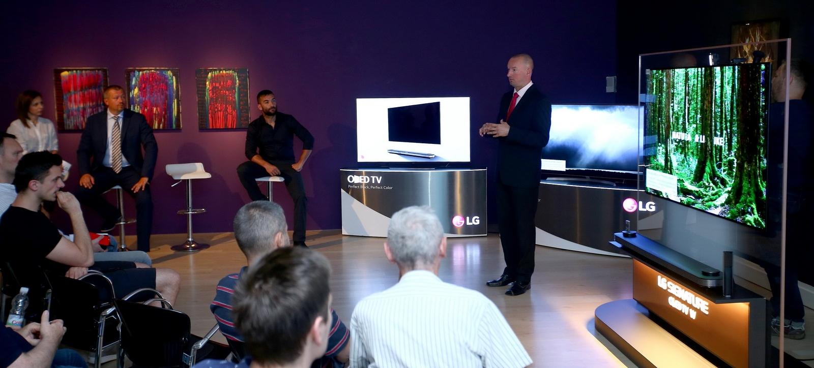 FOTO: LG Electronics predstavio nove modele OLED televizora