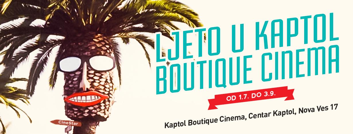 Ljeto u Kaptol Boutique Cinema traje do 3. rujna