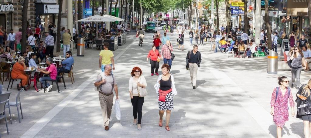 GRAD BEČ Mariahilfer Strasse nagrađena priznanjem za najbolji urbani dizajn