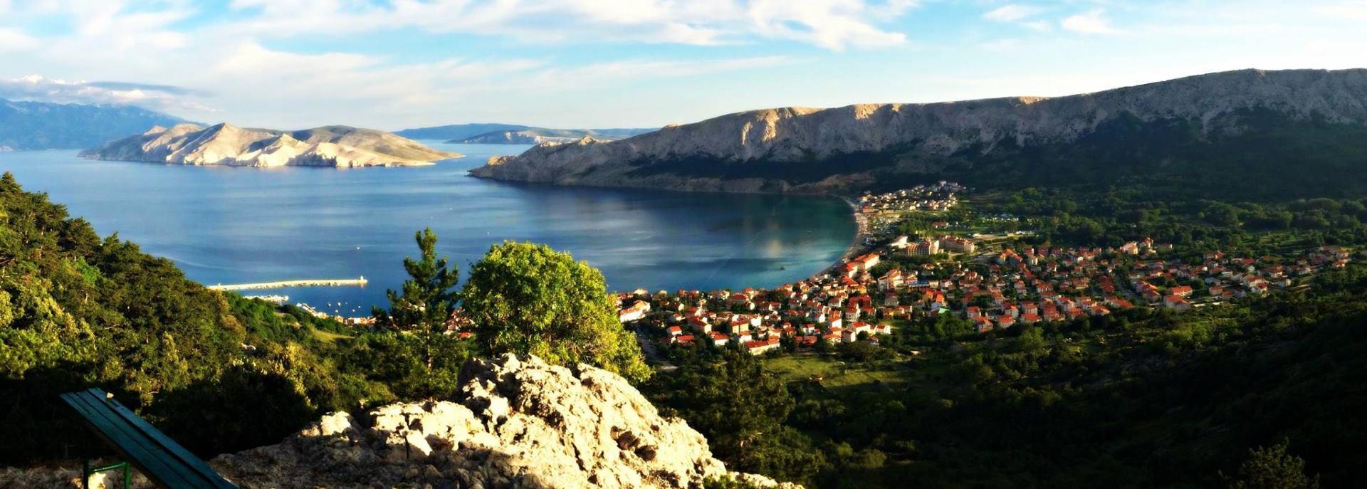 Turistička zajednica općine Baška donosi i Outdoor brošuru
