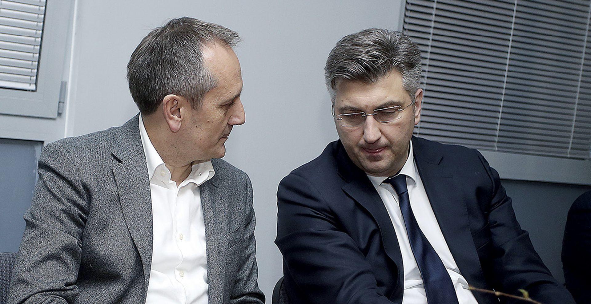 Plenković za formiranje vlasti u Splitu i Zagrebu čeka još mjesec dana