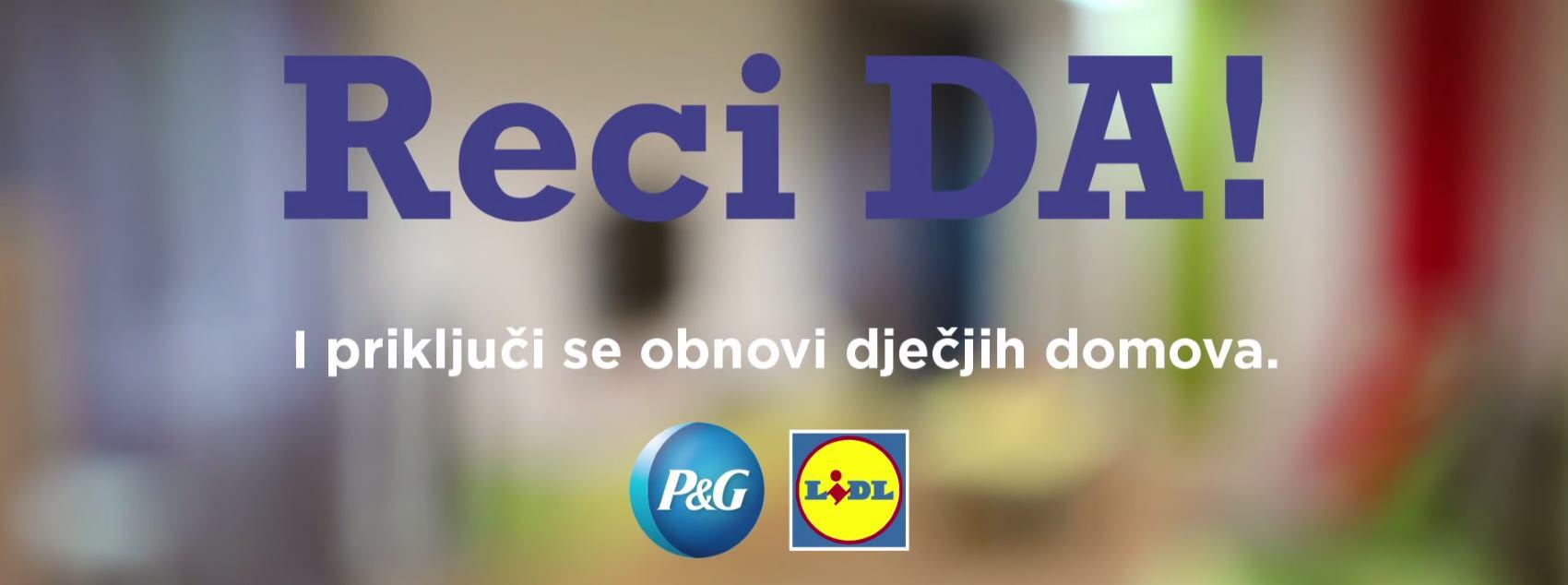 Završila kampanja 'Reci DA!' za dječje domove u Lovranu, Sisku i Dubrovniku