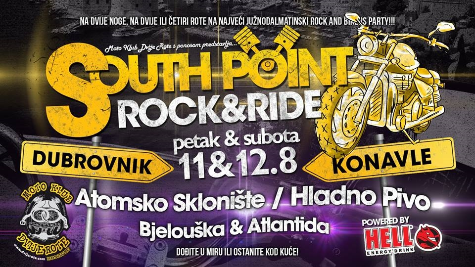 Hladno pivo, Atomsko sklonište i Atlantida na rock and ride festivalu South Point 2017