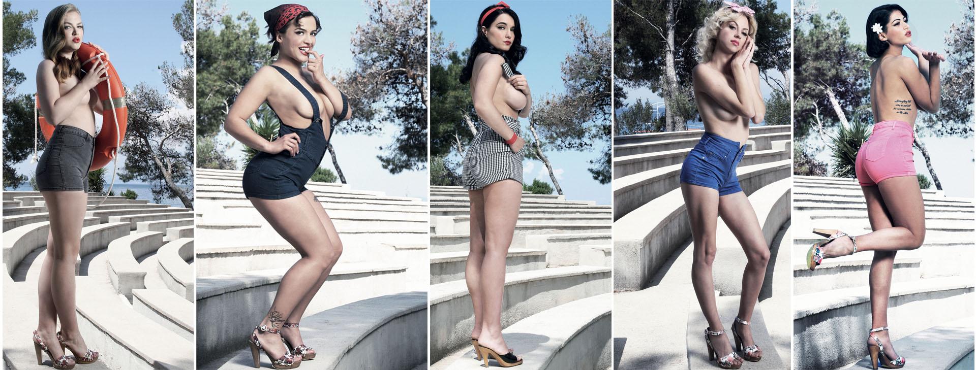 Prvih pet ljepotica u borbi za titulu najseksepilnije Hrvatice