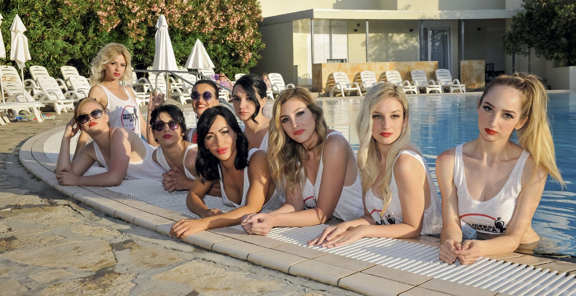 Deset djevojaka u borbi za titulu najseksepilnije Hrvatice