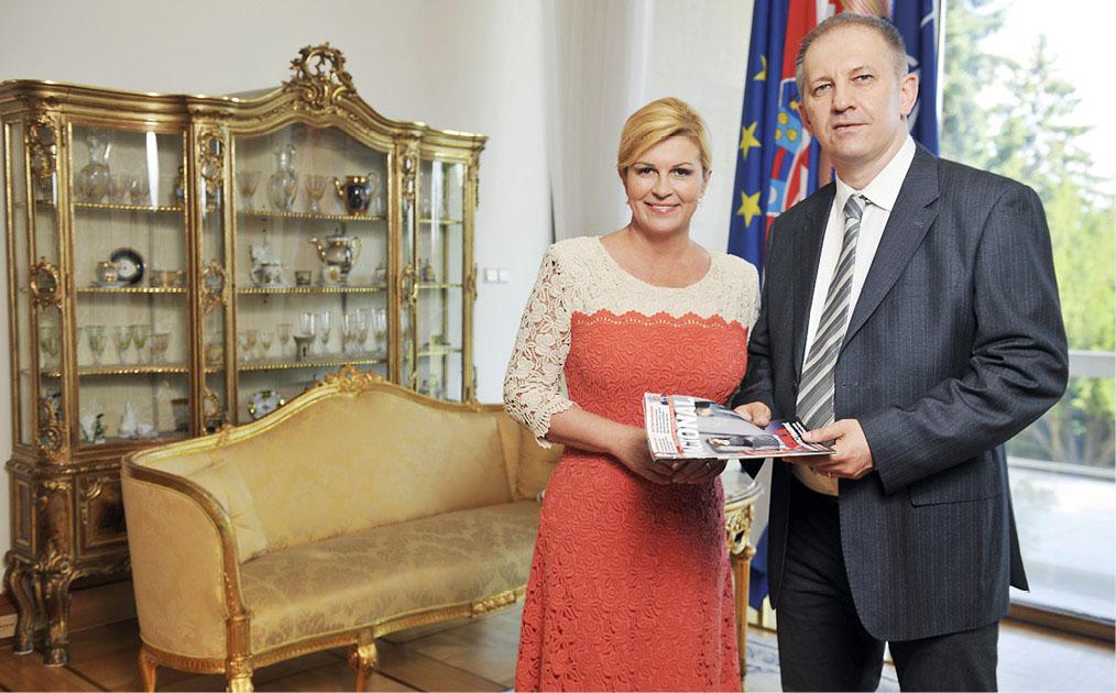 GOST KOLUMNIST Kolinda Grabar Kitarović: Neću odustati od reforme obrazovanja, ključno je pitanje kakve ljude želimo