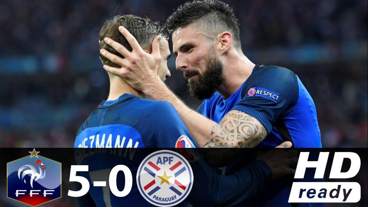 VIDEO: Francuska 'razbila' Paragvaj u prijateljskoj utakmici, Giroud postigao hat-trick